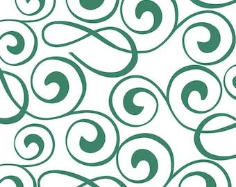 Celtic green gift wrap