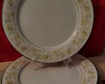 Noritake 'Blossom Time' plates - set of 3