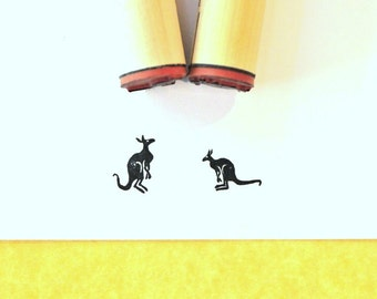 Kangaroo Rubber Stamp Set
