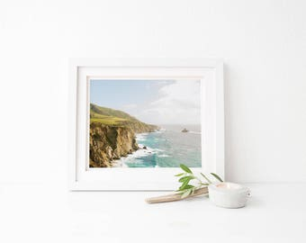big sur print sample sale,  clearance, ocean wall art, big sur california print, big sur ocean