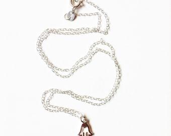Silver Fatima's Hand Charm Pendant //Silver pendant //Silver jewellery //Fatimas hand //Gifts for women //Sterling silver pendant //handmade