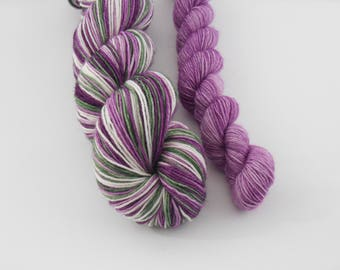 LOVE SOCK self-striping, 022, merino nylon sock yarn,100g