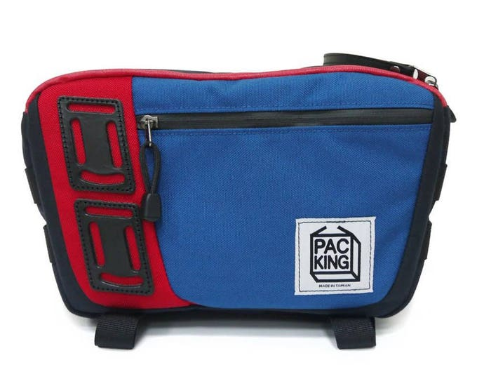 Shop Cross-Body Camera Bag Online - Red Blue Color Combo