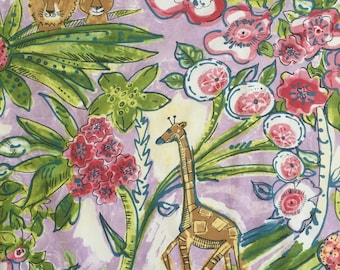custom baby bib ~  floral jungle safari ~ chic couture ~ baby accessories ~ custom made baby bib from lillybelle designs