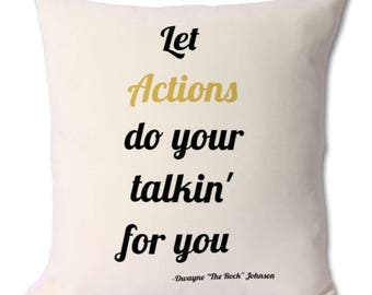Dwayne Johnson, the rock, dwayne the rock, the rock fan, the rock idol, dwaynne johnson fan, the rock quotes, the rock cushion, rock gift
