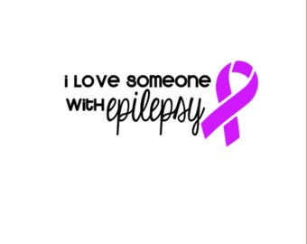 "Love Someone with Epilepsy | 5"" Vinyl Decal 