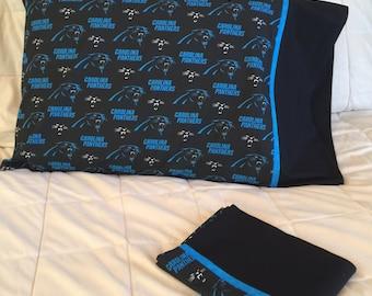 Carolina Panthers Pillow Case