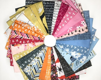Michael Miller Fabrics Violet Craft Madrona Road Collection 30 Piece Fat Quarter Yard Bundle