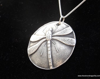 Dragonfly gift, Dragonfly Jewelry, Strength necklace, Silver Dragonfly Charm, Dragonfly Pendant, Dragonfly necklace, Gift for Wife