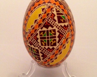 Yellow Diamond Pysanka