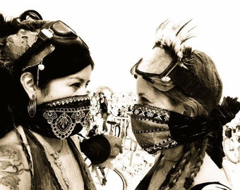 DUST MASK. Beautiful Jeweled, Lace, Dust Mask, Dust Storm. Dust Mask. Comfortable. Adjustable Dust Mask. Festival Mask. Please order early