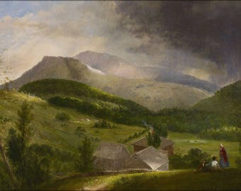 Poster, Many Sizes Available; Alvan Fisher Approaching Storm, White Mountains