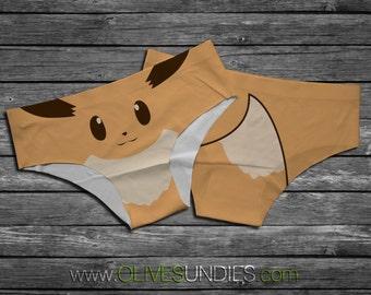 Eevee Pokemon Panties