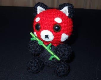 Red Panda Crochet Plush