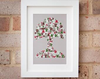 Woodland Tree - Giclée print