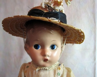 """Rare 1933 Effanbee """"Patsyette"""" 9"""" Composition Doll"""