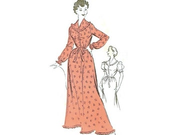1950s Nightgown Sewing Pattern The People 423 B36