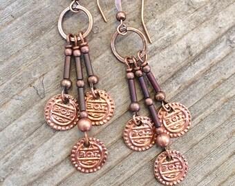 Boho Earrings Dangle, Boho Chandelier Earrings, Bohemian Jewelry, Gypsy Earrings, Boho Earrings Dangle, Bohemian Earrings,