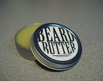 Beard Butter 1.5 oz., Beard Conditioner, Beard Balm, Bald Head, Father's Day Gift, Facial Hair, Men's Grooming, Men's Hair products,