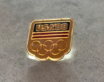 1988 Olympic USA Collectible Pin Vintage