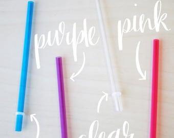 Short Reusable Straws