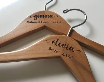 Bride Hanger   Wedding Hanger   Bridal Hanger   Wedding Dress Hanger   Bridesmaid Hangers   Personalized Hanger   Bridal Shower Gift   Bride