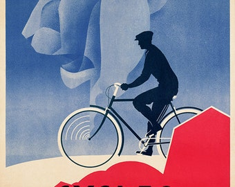 Cycles Peugeot Bicycle Poster (#0515)  6 sizes