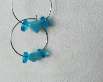 """""""Nebula Butterfly 18"""" hoop"""