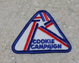 Girl Scout Patch 1990s Cookie Campaign Not dated on patch