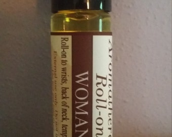 Being Female, Aromatherapy Roller, Woman, Essential Oils, Non-GMO, Organic, Natural