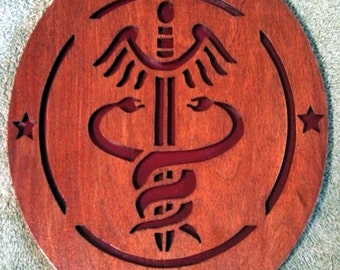 Army Medic Wall Plaque