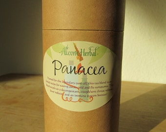 "Cold and Flu Relief Herbal Tea - ""Panacea"""