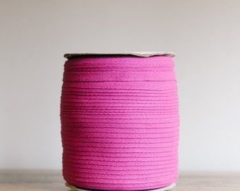 """12mm, 1/2"""" Cotton twill tape / Cotton herringbone tape / available in over 200 beautiful colours  / cotton drawcord / sewing supplies"""