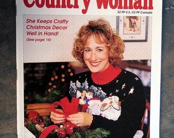 BTS Country Woman Magazine November / December Edition 1998 Crafty Christmas