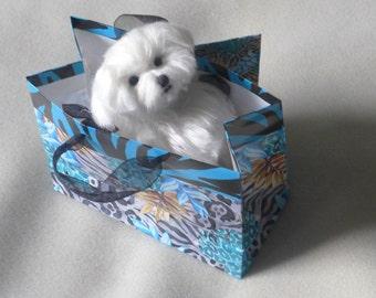 Needle Felted Animal / Needle Felted Dog / Custom Pet Portrait  / OOAK handmade Gift idea / Art Doll / example Maltese