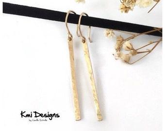 Bar Earrings, Gold Bar Earrings, Gold Bar Stud Earrings, Dangle Earrings, Silver Bar Earrings, Bar Stud Earrings, Rose Gold Earrings