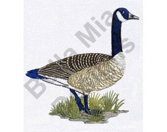 Goose - Machine Embroidery Design, Canadian Goose