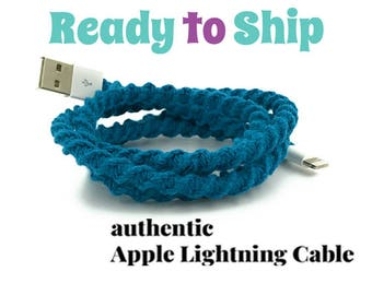 iPhone Lightning Charger Cable, iPhone EarPods, iPhone EarPods plus Lightning Cable Gift Set You Choose - LYRIC by Missy and Joy