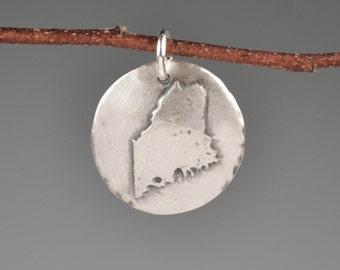 Maine totem-talisman-charm-amulet-state