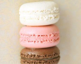 Fake Food Magnet - Macaron Magnet - Neapolitan Macaron