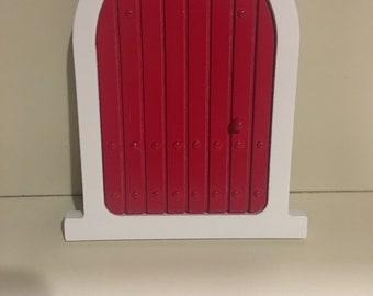 Red Elf door