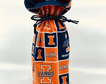 Wine Bag - University of Illinois