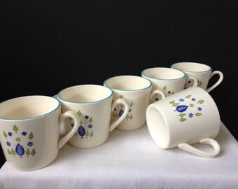 Stetson Marcrest - Swiss Chalet - Cups - Set of Six - 1960's