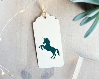 Unicorn Stamp  - Gift For Crafter - Unicorn Lover Gift - Mythical Unicorn Illustration - Mythical Creatures - Scrapbook Stamp