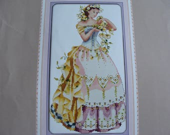 "Counted cross-stitch ""Lady"" - new Embroidery Kit"