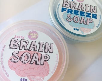 Jelly brain Soaps - Set of 2