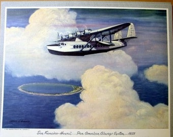 1935 Pan Am American Airways Sikorsky S42B Clipper