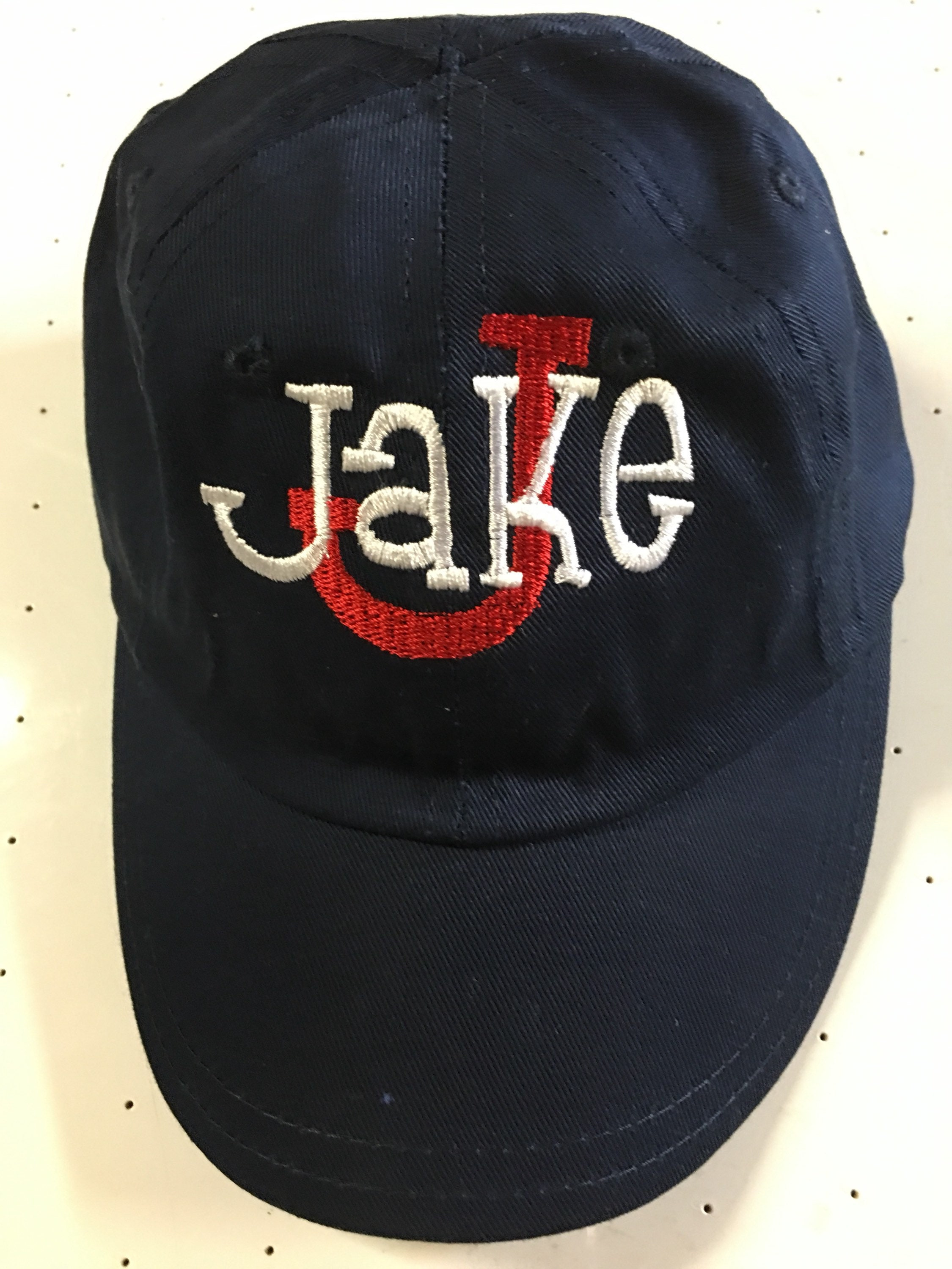 2a2e34776dc Personalized Toddler Baseball Hats - Parchment N Lead