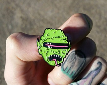 Goblin Enamel Pin 1' lapel pin badge
