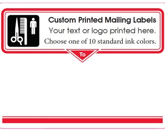 10000 mailing labels custom printed stickers business